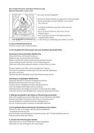 Sieben Punkte der Geistesschulung - Tibetischer Buddhismus im ...