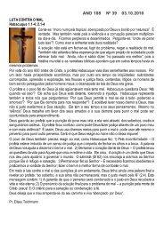 ANO 108 Nº 39 03.10.2010 - Comunidade Evangélica Luterana ...