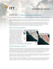 ENVI EX | Feature Extraction Workflow - Exelis Visual Information ...