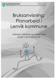 Bruksanvisning: Planarbeid i Lenvik kommune