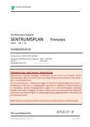 SENTRUMSPLAN Finnsnes - Lenvik kommune