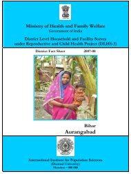 Aurangabad - STATE HEALTH SOCIETY-----BIHAR