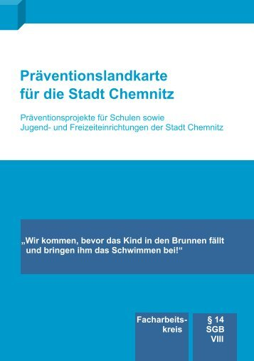 Präventionslandkarte für die Stadt Chemnitz