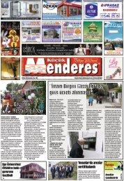 30  Nisan tarihli Küçükmenderes Gazetesi