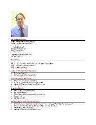 Dr. James Romaine Associate Professor of Art ... - Nyack College
