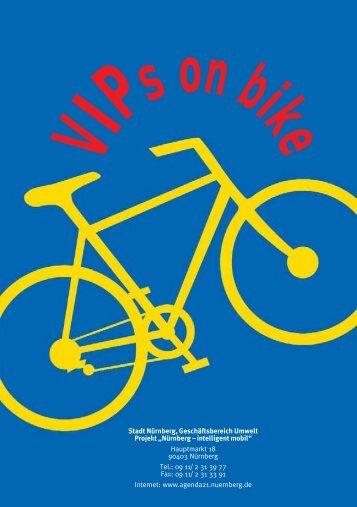 VIPs on Bike - Stadt Nürnberg
