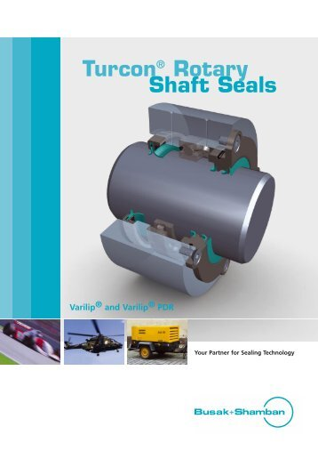 Turcon® Rotary Shaft Seals