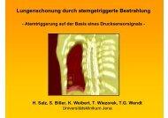 Atemtriggerung - Strahlentherapie