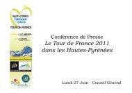 ppt conf presse 270611 - Tarbes-Infos