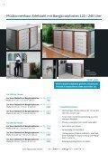 carports, container- und mülltonnen häuser - Indra Metallwaren - Page 6
