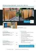 carports, container- und mülltonnen häuser - Indra Metallwaren - Page 7