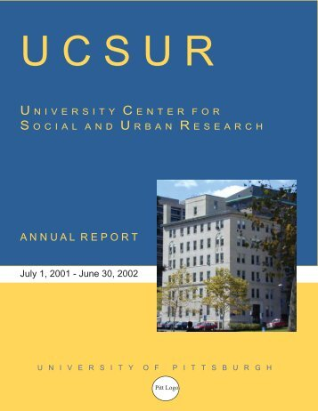 2001-2002: Annual Report - University Center for Social and Urban ...
