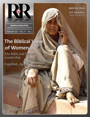 The Biblical View of Women - Apologetics Press
