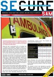 working together for a safer, secure health service