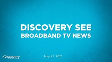 Vlad Tudosie, Country Manager. Discovery Networks, Romania and