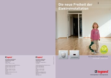 Die neue Freiheit der Elektroinstallation - Legrand - Legrand Austria ...
