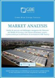 Analisi di Mercato sul fabbisogno energetico del ... - GBEfactory