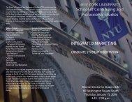 INTEGRATED MARKETING Graduate Student Orientation