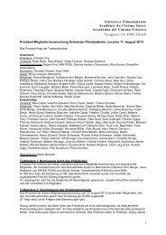 Protokoll MV SFA 2013 def - Schweizer Filmakademie