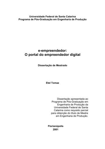 e-empreendedor: O Portal do Empreendedor Digital