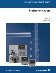 Dosing Instrumentation - Grundfos