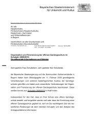 Organisation und Finanzierung der offenen Ganztagsschule im ...