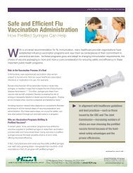 Safe and Efficient Flu Vaccination Administration - Hida