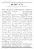Was Hänschen nicht lernt… - Streifzüge - Seite 3