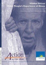 Hidden Voices - Action on Elder Abuse