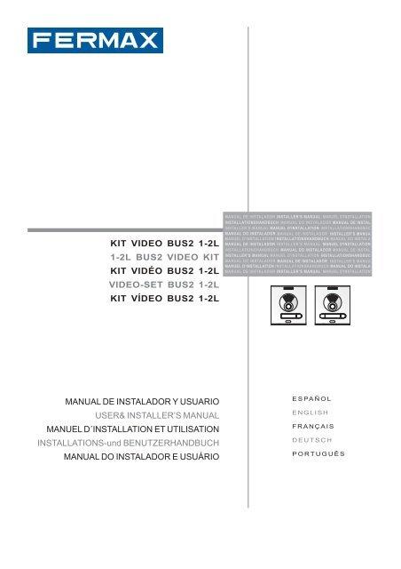 97347c kit video 12l bus2 v0311pmd  door entry intercoms