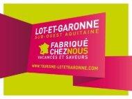 Pré-bilan de la haute saison 2010 - Tourisme Lot-et-Garonne