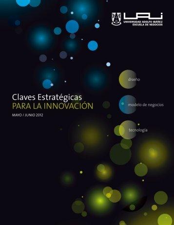 Claves Estratégicas PARA LA INNOVACIÓN - Universidad Adolfo ...