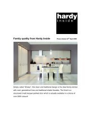 Family quality from Hardy Inside