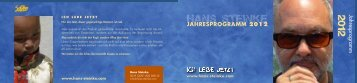 JAHRESPROGRAMM 2012 Jahresprogramm - Hans Steinke