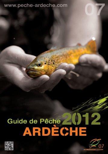 Le Guide 2012 PDF - Pêche en Ardèche