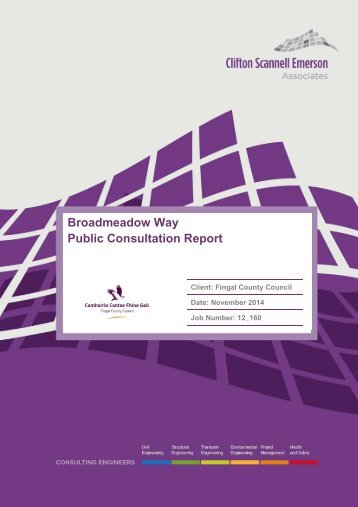 Public Consultation Report Nov 2014