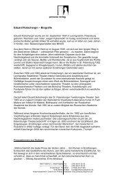 Eduard Kotschergin – Biografie - Prittwitz & Partner