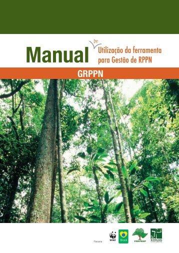 Manual Utilização da ferramenta para Gestão de RPPN