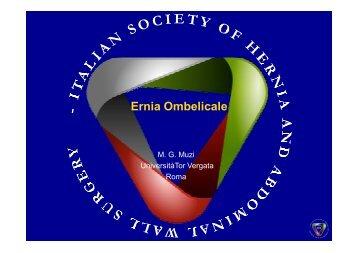 Ernia Ombelicale - Cattedra Chirurgia Tor Vergata