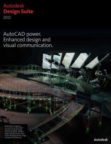 Autodesk® Design Suite AutoCAD power. Enhanced ... - Ad-Tech Inc