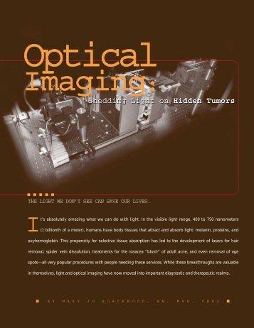 Optical Imaging - Mallinckrodt Institute of Radiology