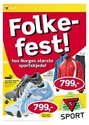 Knallpriser på trenings- sko og klær Knallpriser ... - G-Sport Trondheim