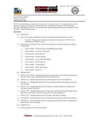 3 Part Specifications (PDF) - Alpine Door