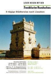5-tägige Städtereise nach Lissabon