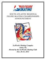 2012 SA Regional Announcement - US Figure Skating