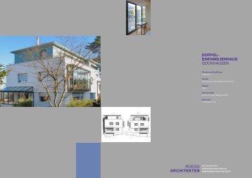 Brunner Architekten einfamilienhaus mit aussicht in madetswil definti brunner architekten