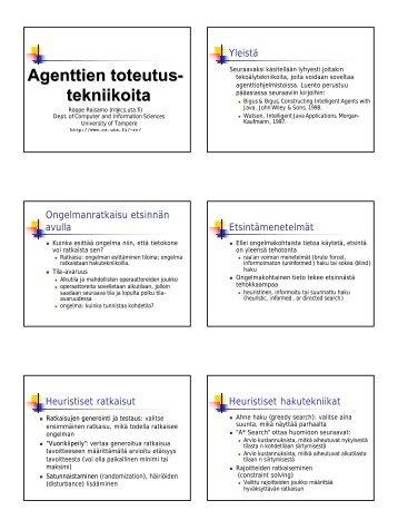 luentokalvot tulostettavaksi (pdf) - Tietojenkäsittelytieteiden laitos ...