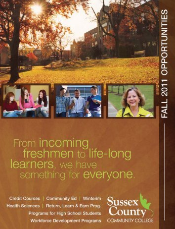Summer/Fall 2011 - Sussex County Community College