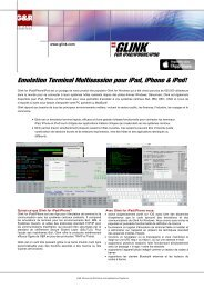 Multisession Terminal Emulation for iPad, iPhone & iPod - The G&R ...