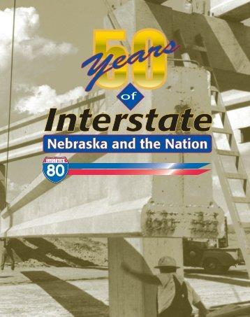 Nebraska and the Nation - Nebraska Department of Roads